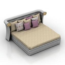 Bed CAESAR Ipe Cavalli Visionnaire 3d model