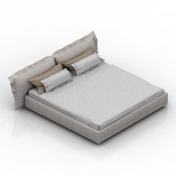 Bed casadesus dali 3d model
