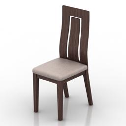 Chair IDEALSEDIA Miu 3d model