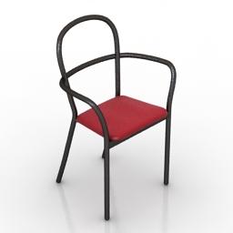 Chair PORRO GENTLE 3d model