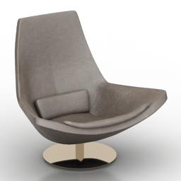 Chair b&b italia 3d model