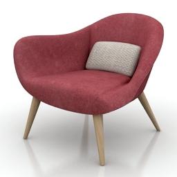 Chair poliform 3d model