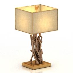 Lamp Desk Extrax 3d model