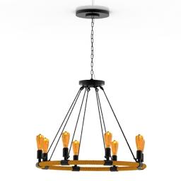 Luster Loft Design 3d model