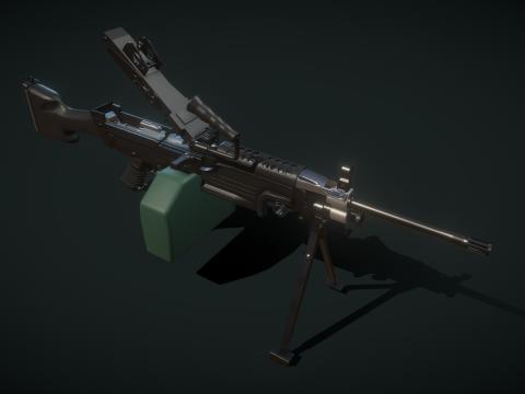 M249 squad automatic weapon