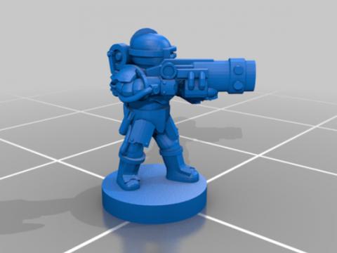 Milky Way Militia Extra Elite Rifles