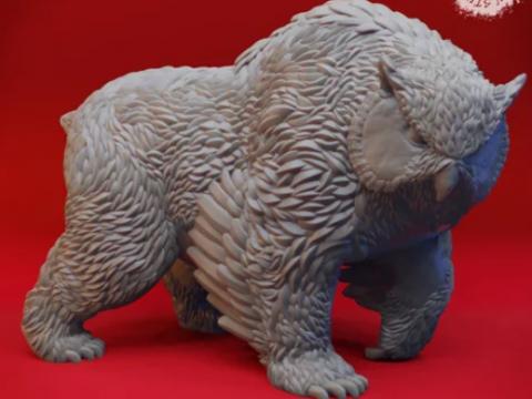 Owlbear - Tabletop Miniature
