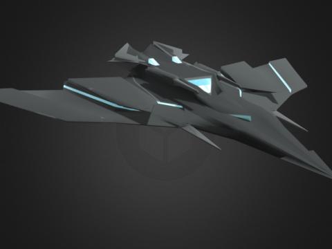 Sci-Fi Jet concept