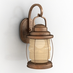 Sconce Bacon Wall Lamp 3d model