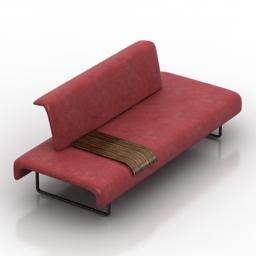 Sofa CLOUD B&B Italia 3d model