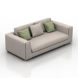 Sofa Ditre Italia Bijoux 3d model