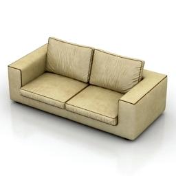 Sofa Formerin Hermes 3d model