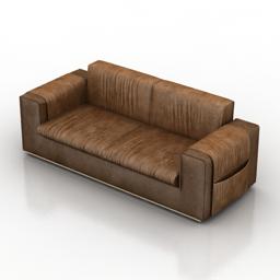 Sofa Formerin Steve 3d model