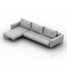 Sofa Idun 3d model