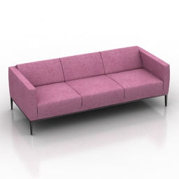 Sofa Jean B&B Italia 3d model