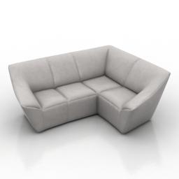 Sofa L 3d model