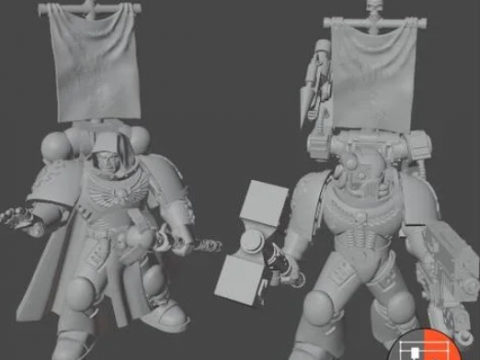 Space Soldiers - Extra Characters