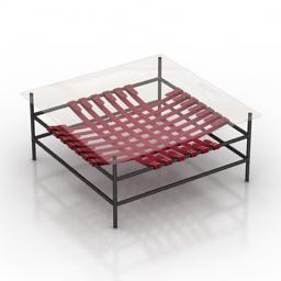 Table Houzz Loft 3d model