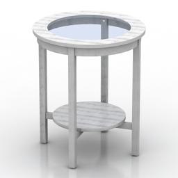 Table IKEA MALMSTA 3d model