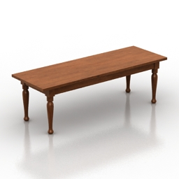 Table old 3d model