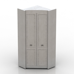 Wardrobe BRW SALERNO 3d model