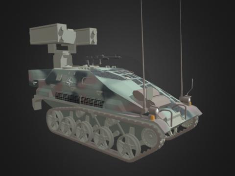 Wiesel 2 Ozelot Anti- Air Unit Tank