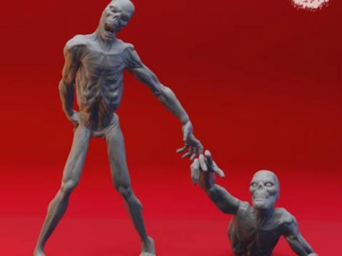 Zombies - Tabletop Miniature