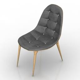 Chair starck eyes 3d model