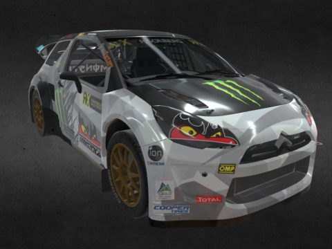 Ford Focus RS Rally Car