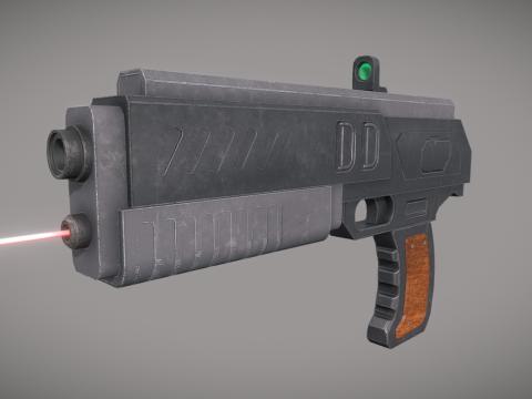 HardSurface Gun