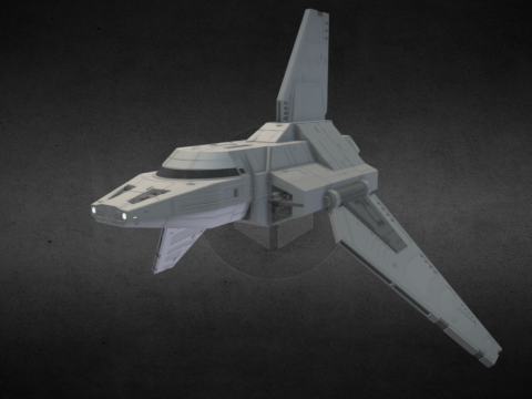 Star Wars: Ministry-class Shuttle