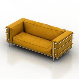 Sofa Lamborghini 3d model