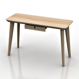 Table IKEA LISABO 3d model