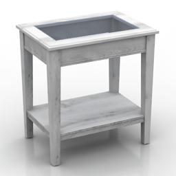Table IKEA Liatorp 3d model