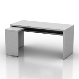Table IKEA Malm 3d model