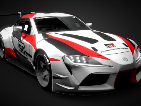Toyota GR Supra - Super GT