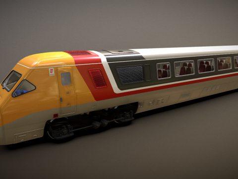 Train - British Rail Class 370 APT DVT