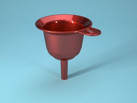 Funnel 3d model